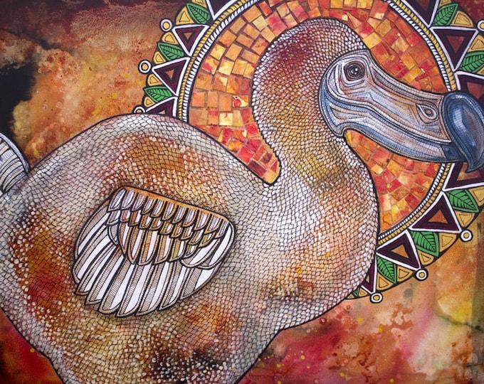 Dodo Bird Art Print by Lynnette Shelley