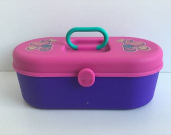 "1990s Cosmetics/Accessory Organizer Mini ""Caboodles"""