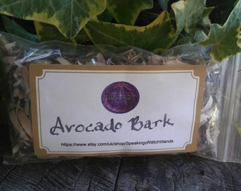 Wood Bark - Tree Bark - Avocado Tree Bark - Avocado Bark - Poppet - Egyptian - Avocado Wood Bark