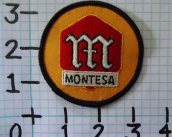 "Vintage ""Montesa"" Motorcycle Patch (001)"