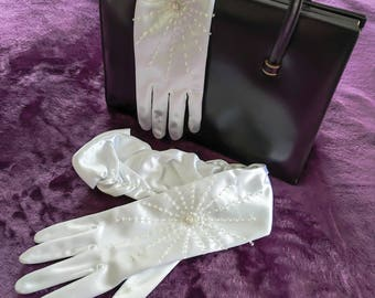 Prom gloves, elbow length gloves, long white gloves, opera length gloves, burlesque gloves, bridesmaid glove, wedding gloves, bridal gloves