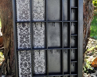 MADE TO ORDER - Small Antique Printers Drawer Jewelry Storage