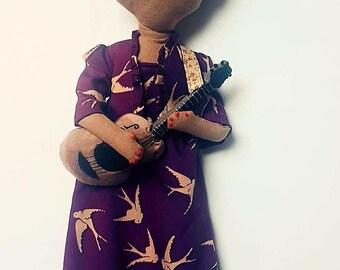 Heirloom Doll fabric doll Rosetta