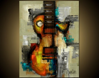 Modern Art - Original Painting - Modern Abstract Art by SLAZO - 30x40