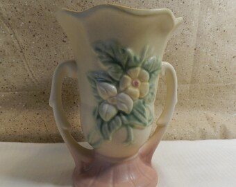 Hull Wildflower Double handled Vase
