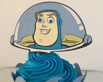 Disney's Buzz Lightyear Cupcake Topper