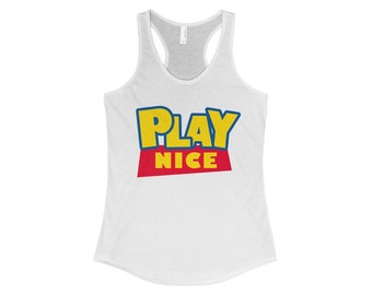 Play Nice Toy Story Womens Tank