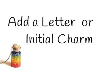 Add a Letter or Initial Charm, UK, 1007