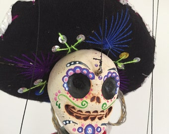 Day of the Dead, Señor -marionette puppet