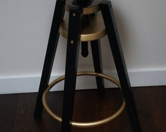 Vinyl Record Bar Stool
