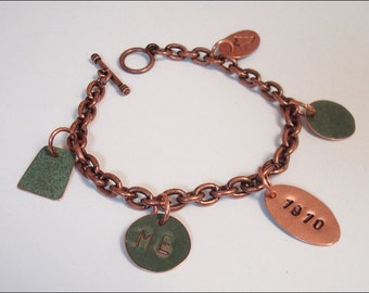 Maine State House Copper Roof charm bracelet - Limited Edition AR