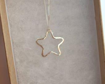 Little Star Pendant - Sterling Silver