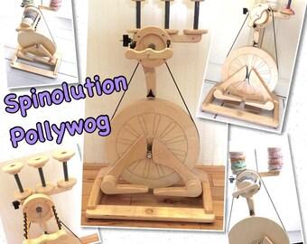 Spinolution pollywog  spinning wheel golden whorl in  stock pick  : Saorisantacruz