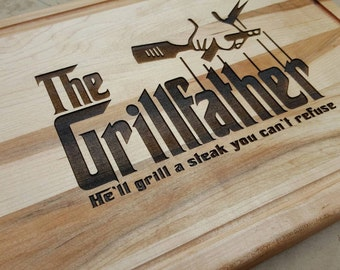 Men's Birthday, Father's Day gift. The GrillFather