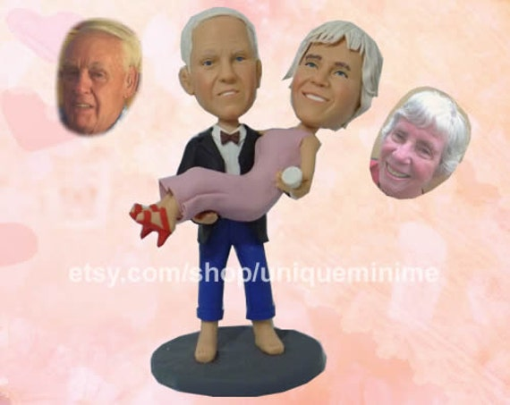 Marriage anniversary animation gift ~ 30th wedding anniversary bobblehead dolls 30th anniversary