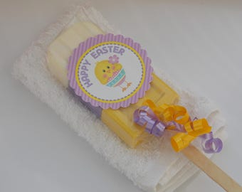 Easter soap popsicle etsy 1 easter soapsicle washcloth set with tag ribbons easter soap popsicle negle Image collections