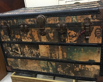 Vintage Rock & Roll Treasure Trunk