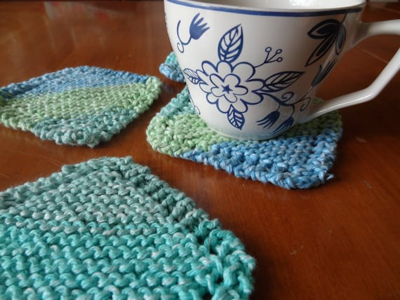 Pdf File For Knit Coaster Pattern Simple Knit Coaster