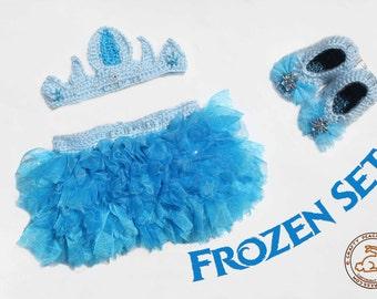 Frozen Girl Tutu Set