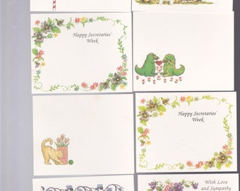 Note cards assortment - 98 cards, gifts, gift tags, note cards, greeting cards