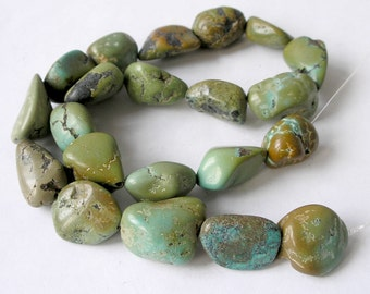 Turquoise Beads December Birthstone For Beaded Jewelry Making Metaphysical Healing Stone