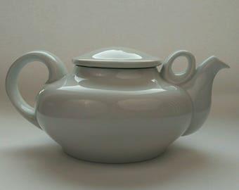 Big Porcelain Teapot #B&G #1950s, Copenhagen, Denmark #Danish Porcelain #Danish Art