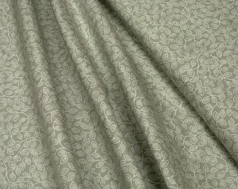 P&B • Essentials 2 • Beige Leaf Vine • ESS2-569E • Cotton Fabric 0.54yd (0,5m) 002871