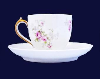 Antique Demitasse CH Field Haviland Tea Cup
