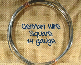 14ga 5ft Square German Wire - DS