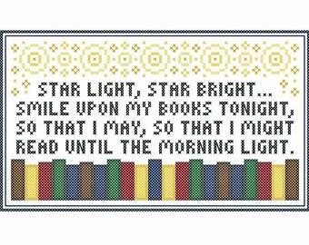 Star Light - Original Cross Stitch Chart
