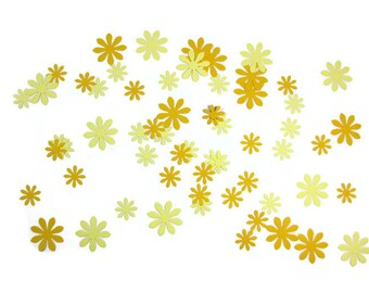 Daisy Paper Confetti , Flower Paper ConfettiYou Choose the Colors