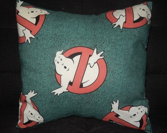 Ghostbusters Rare Original Vintage Fabric Cushion Selection-  Handmade by Alien Couture