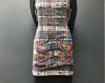 Guatemalan Apron, gypsy, bohemian, vintage one of a kind
