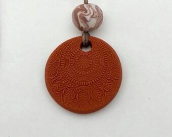Dainty Medallion~Terracotta Diffuser for Essential Oils