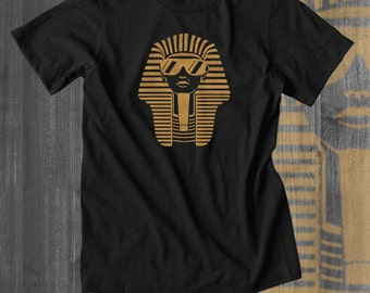 Egyptian Shirt King Tut Funny tshirts Plus Sizes Afrocentric Clothing African Clothing African Attire African Wear African Shirt custom tee