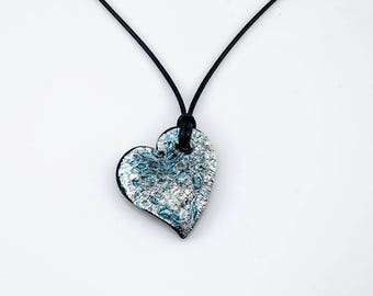 Eroded Heart Pendant