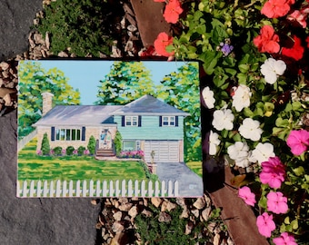 Home Painting Custom Acrylic Landscape Gift