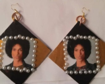 extra large prince specialty earrings