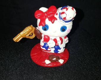 Hello kitty nightmare captain Spaulding devils rejects house of 1000 corpse hand made figure