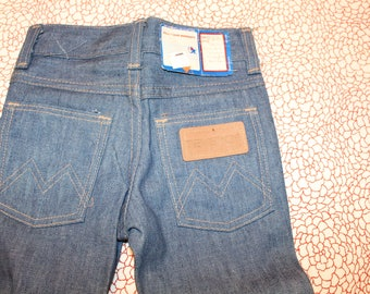 Vintage Children's Western Blue Denim Jeans Made By Maverick Size 3 T
