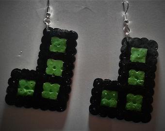 Pixel Tetris earings