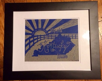 My Old Kentucky Home Print