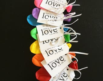Love is in the air tags