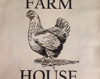 Ivory Twill Farm  House Style Pillow Cover