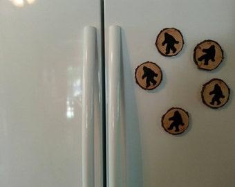 Bigfoot refrigerator magnets!
