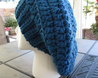 Blue Slouch hat
