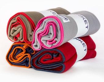 Fleece Dog Blankets in Four Colours by Purplebone