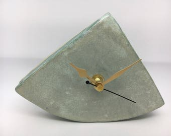 Handbuilt Ceramic Clock (Rocking)