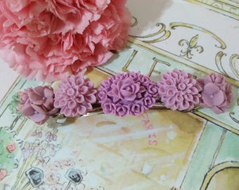 LILAC Flower Power Collection  Hair Barrette