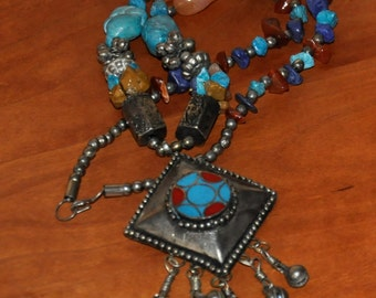 Necklace Turquoise Sterling Silver